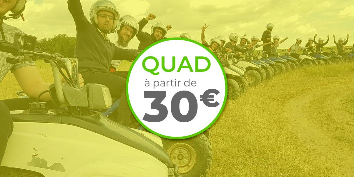 tarif quad activité location Auch toulouse Gers occitanie Tarbes Quad Concept