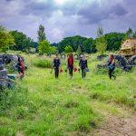 activité extérieur groupe copines paintball Auch Toulouse Tarbes Gers occitanie