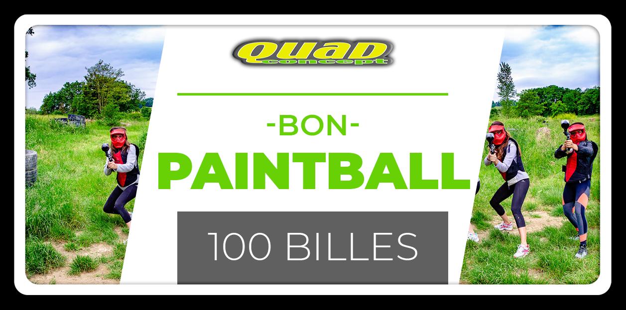 Paintball 100 billes