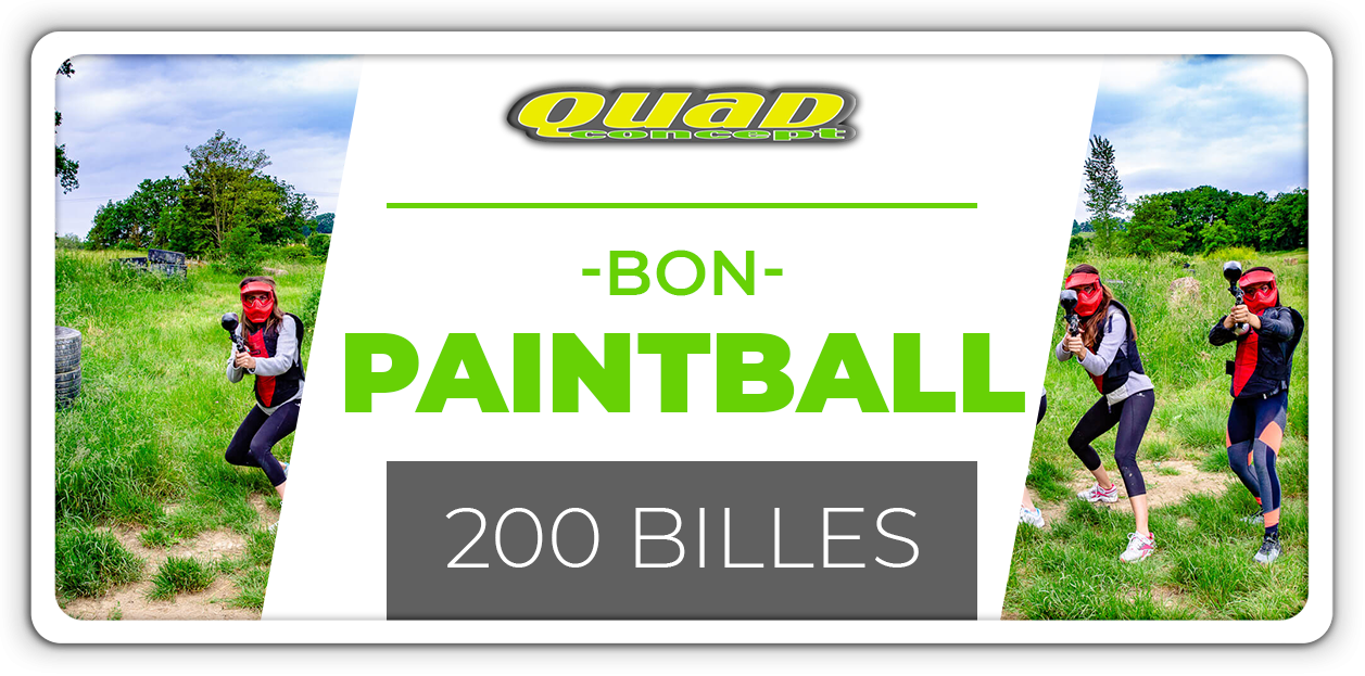 Paintball 200 billes
