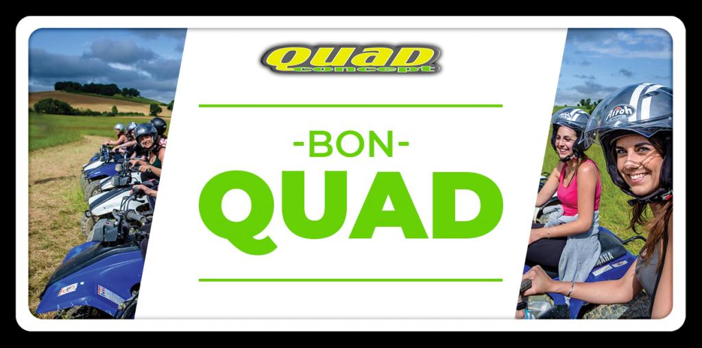 offrir cadeau quad Auch Toulouse Tarbes Gers occitanie