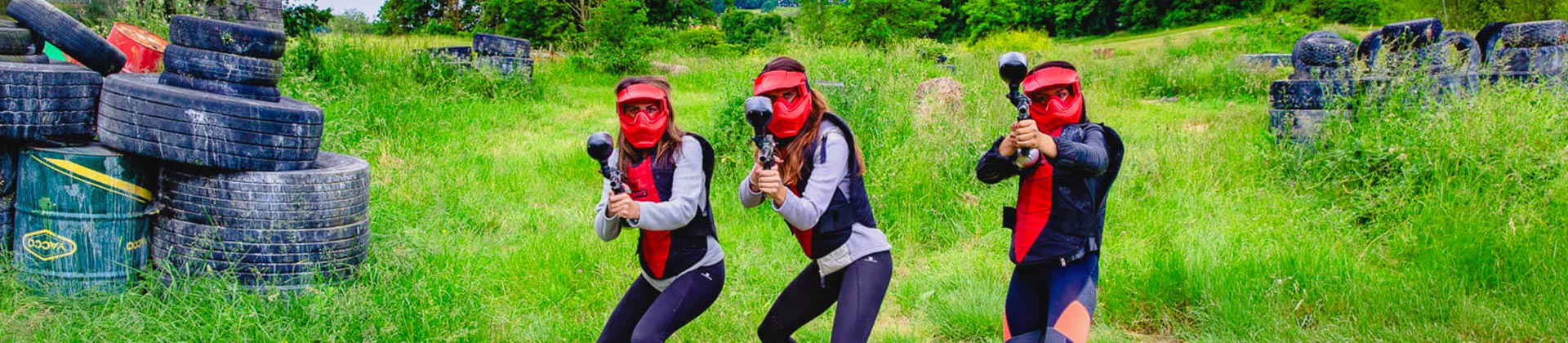 tourisme copines initiation paintball Auch Toulouse Tarbes Gers occitanie