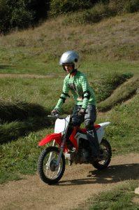 cours moto cross enfants Auch Toulouse Gers occitanie