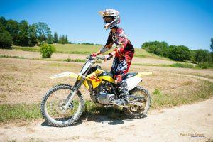 mécanique moto adolescent cross Auch Toulouse Gers occitanie