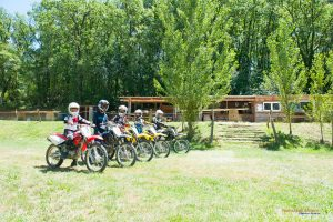 anniversaire groupe ados moto cross Auch Toulouse Gers occitanie