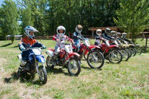 anniversaire groupe enfants moto cross Auch Toulouse Gers occitanie