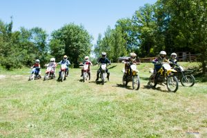 course plein air campagne moto cross enfants Auch Toulouse Gers occitanie