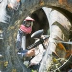 paintball plein air en équipe Auch Toulouse Gers occitanie
