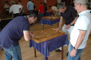 Activité team building jeux gascons billard palet Auch Toulouse Gers occitanie