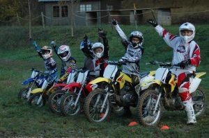 Activité groupe moto cross Auch Toulouse Gers occitanie
